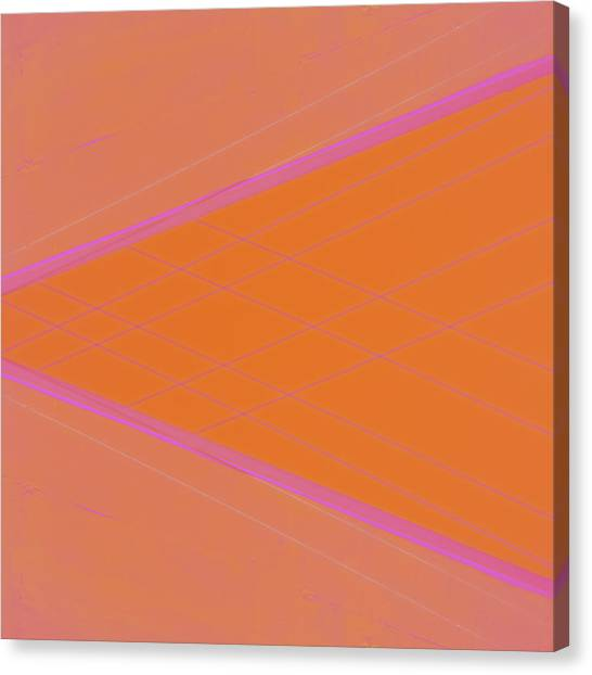 Abstraction Canvas Print - Abstraction In Pink Number 4 by Carol Leigh