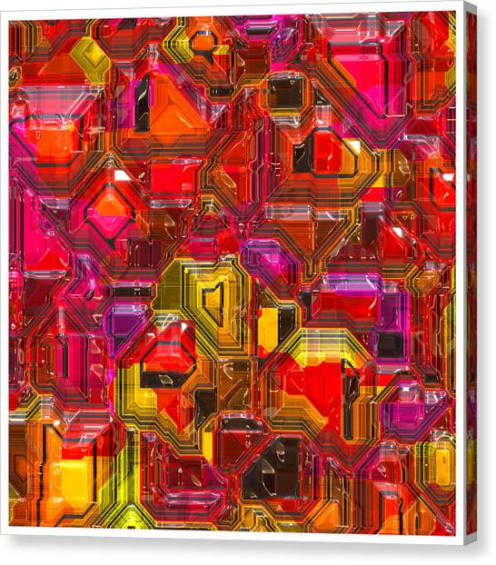 Abstractions... Canvas Print
