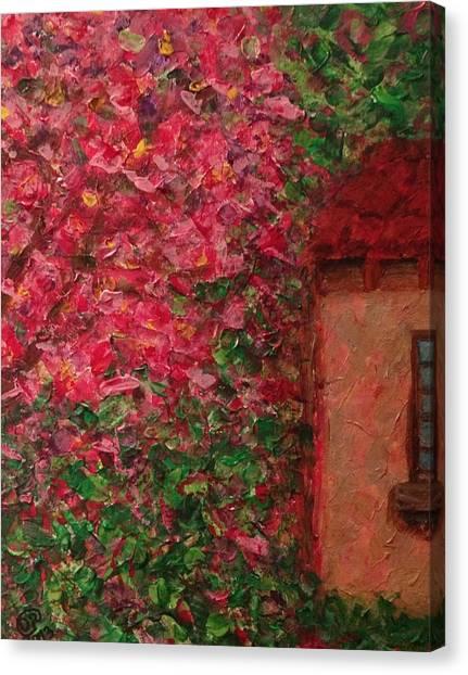 Abuela's Casita  Canvas Print by D August