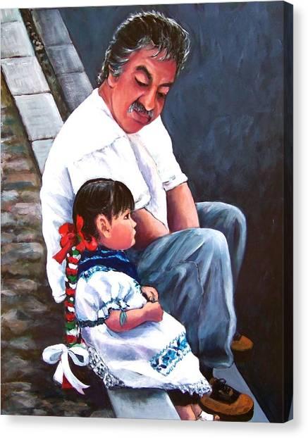 Abuelito Canvas Print