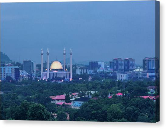 Nigeria Canvas Print - Abuja National Mosque by Irene Becker Photography
