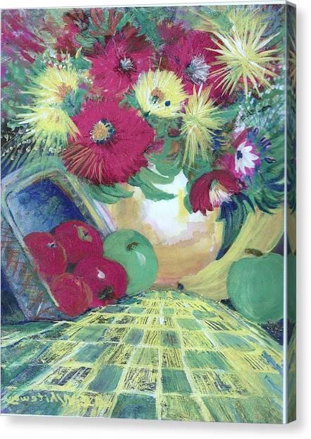 Abundance II Canvas Print by Anne-Elizabeth Whiteway