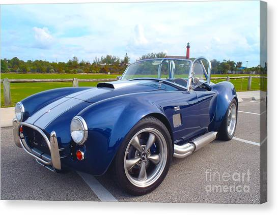 Toyota Canvas Print - Ac Cobra by Carey Chen