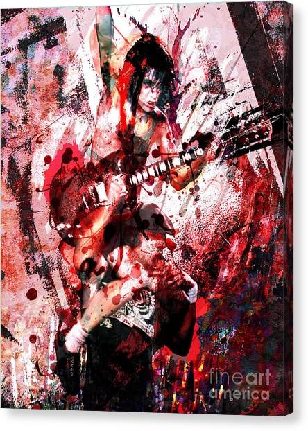Ac Dc Canvas Print - Ac Dc Original  by Ryan Rock Artist