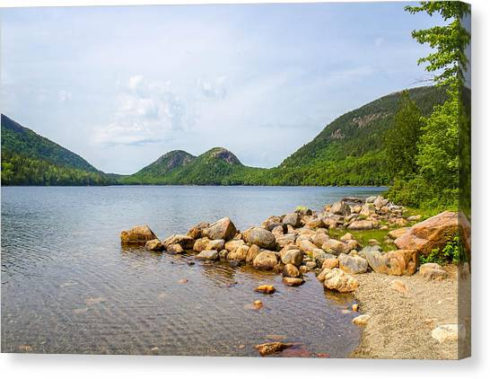 Acadia Bubble Mountains  Canvas Print