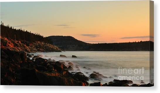 Acadia Morning Canvas Print
