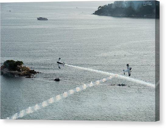 Acapulco Canvas Print - Acapulco Air Show, 2014 by Marcos Ferro