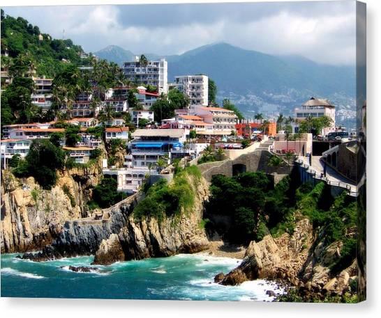 Acapulco Canvas Print - Acapulco by Karen Wiles