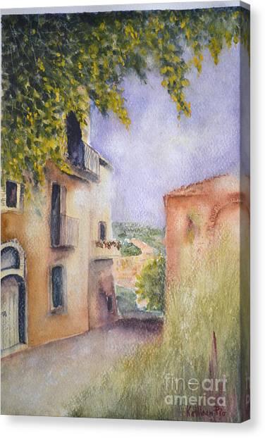 Accadia Canvas Print
