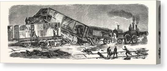 Accident Happened On The Versailles Railway Left Bank Drawing by ...