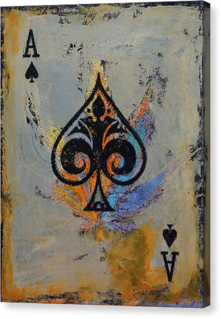 Ace Canvas Print - Ace by Michael Creese