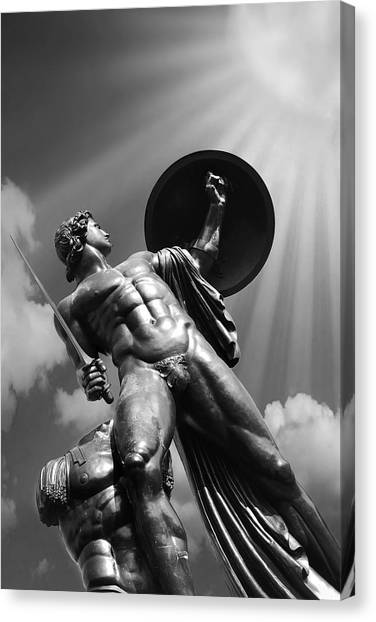 Hyde Park Canvas Print - Achilles by Mark Rogan