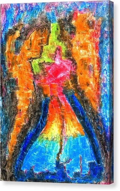 Achtung Canvas Print by Yuri Lushnichenko