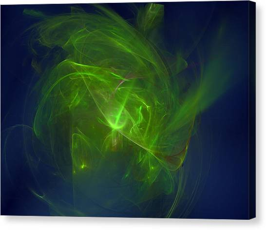 Acidic Voulge Canvas Print