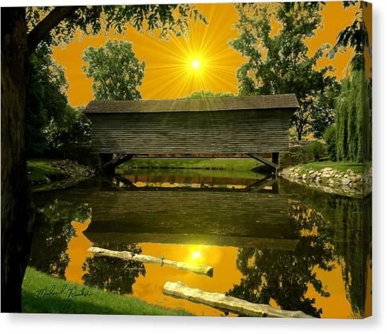 Ackley Covered Bridge Canvas Print