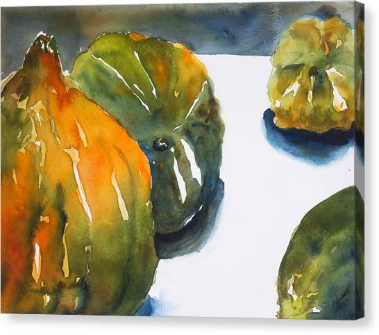 Acorn Squash Canvas Print