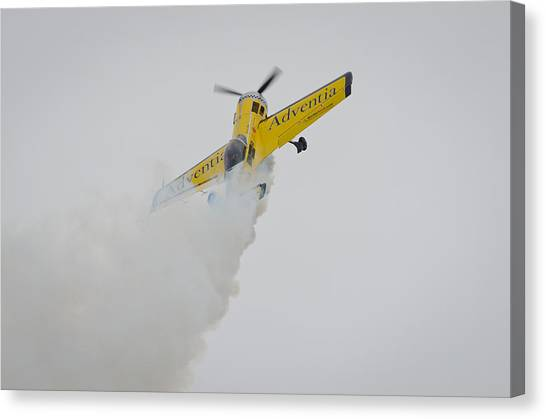 Aerobatics At Cuatro Vientos II Canvas Print