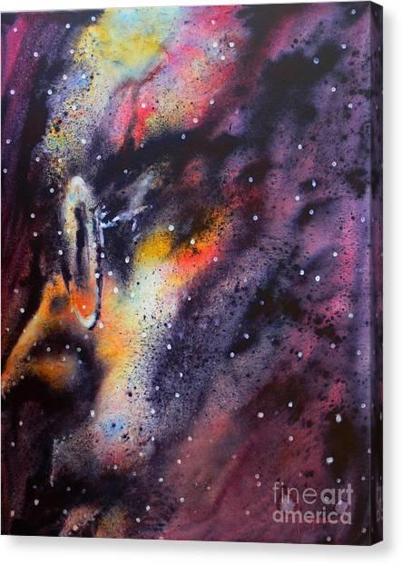 Across The Universe Canvas Print by Robert Hooper