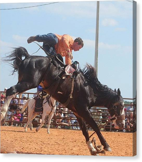 Rodeos Canvas Print - #action #all_shots #actionshot #igdaily by Lisa Yow