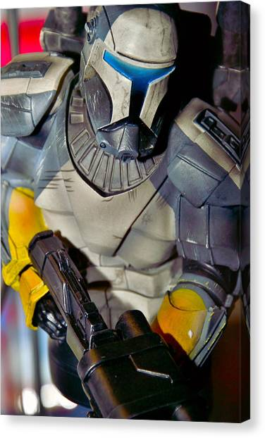 Action Toy Canvas Print