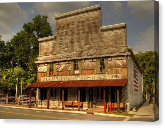 Adams Old Country Store Canvas Print