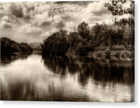 Adda River 2 Canvas Print