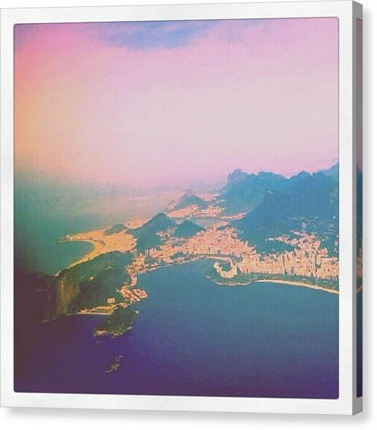 Mars Canvas Print - Adeus Rio De Janeiro by Dafne Komora Tambeiro