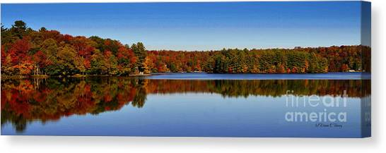 Adirondack October Canvas Print