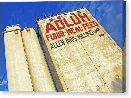 Adluh Flour Canvas Print