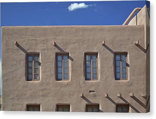 Adobe Architecture II Canvas Print
