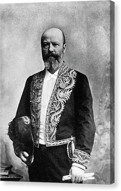 The Legion Canvas Print - Adolphe Pinard by National Library Of Medicine
