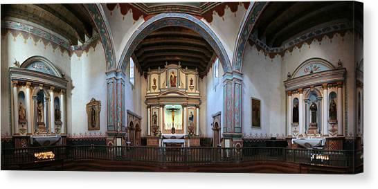 Mission San Diego Canvas Print - Adoration - Mission San Luis Rey De Francia  by Stephen Stookey