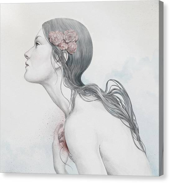 Portraits Canvas Print - Adoration by Diego Fernandez