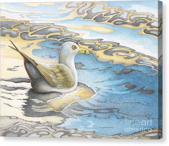 Adrift Canvas Print by Wayne Hardee