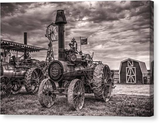 Advance Steam Traction Engine Canvas Print