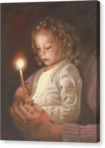 Canvas Print - Advent Light by Anne Kushnick