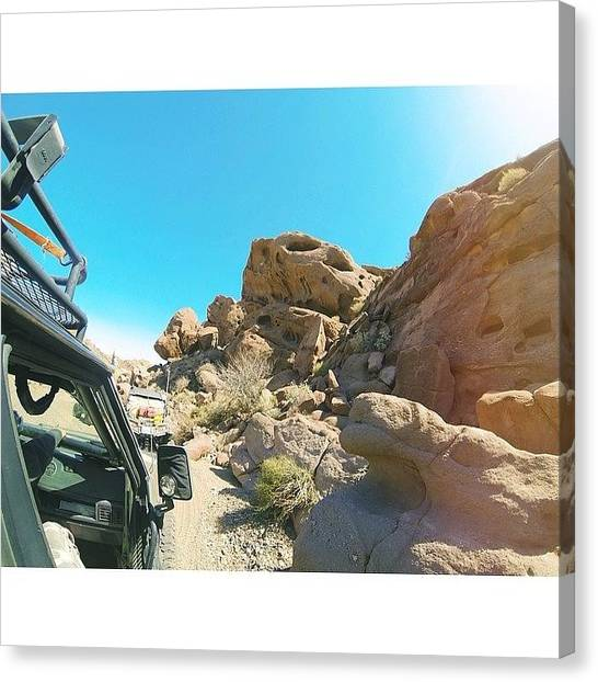 Offroading Canvas Print - #adventure Time. More From This Weekend by Christi Mcgarry
