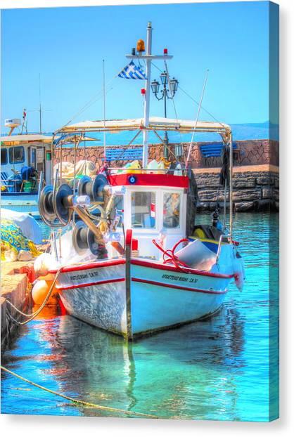 Aegean Light Canvas Print