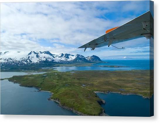 Aerial Alaska Canvas Print