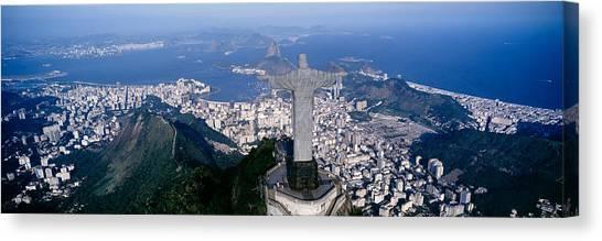 Calm Down Canvas Print - Aerial, Rio De Janeiro, Brazil by Panoramic Images
