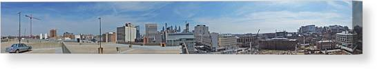 Liberty University Canvas Print - Aerial View Of Philadelphia by Cityscape Photography