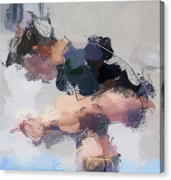 Balance Beam Canvas Print - Aesthetic by Steve K