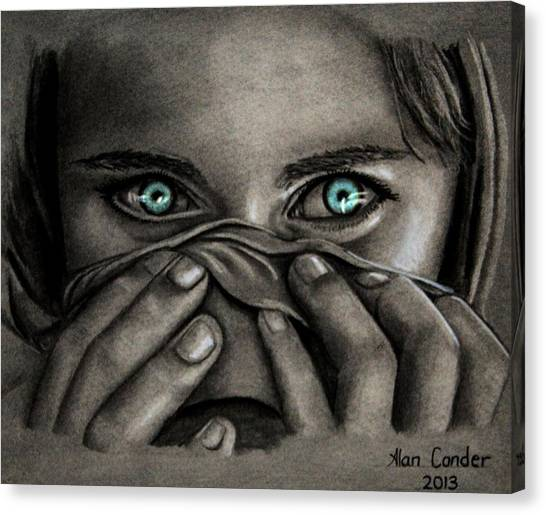 Afghan Girl Canvas Print