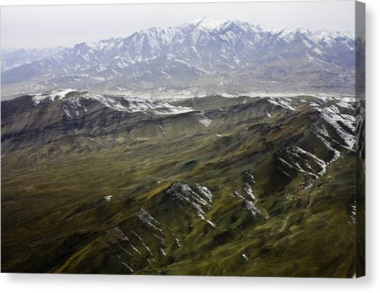 Hindu Kush Canvas Print - Afghan Land by Marijoy Leynes