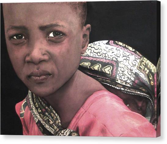 Africa Sisters Canvas Print