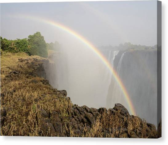Victoria Falls Canvas Print - Africa, Zimbabwe, Victoria Falls by Jaynes Gallery