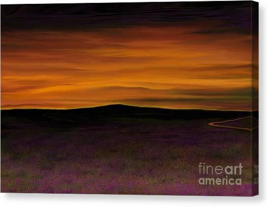 African Sky Canvas Print