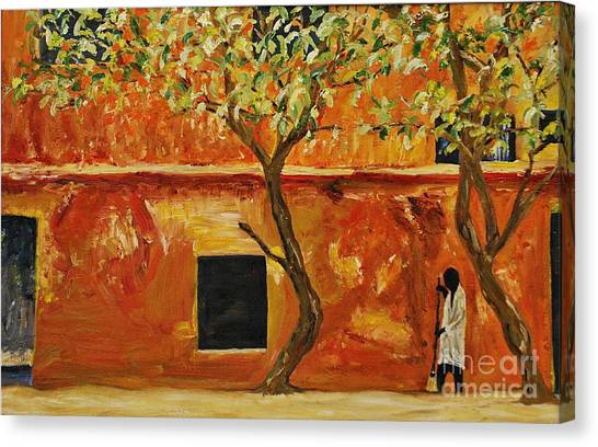 African Sweeping Canvas Print