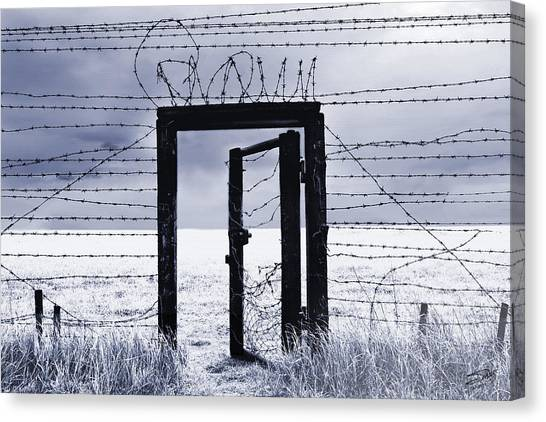 Oppression Canvas Print - After The Iron Curtain by IM Spadecaller