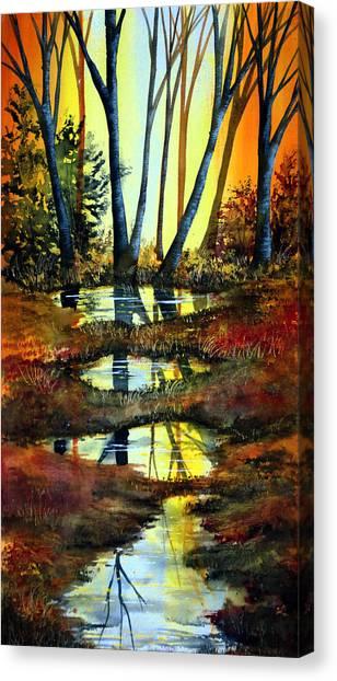 After The Rain Canvas Print by Ann Marie Bone